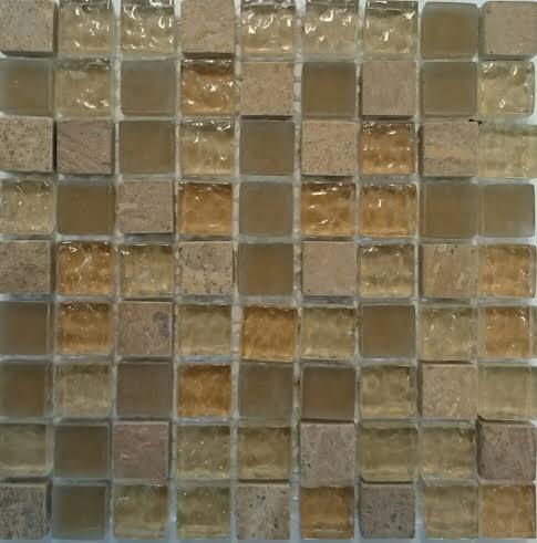 BEIGE  kő-üveg mozaik