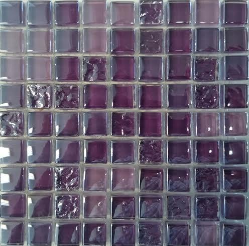 LILA MIX üvegmozaik