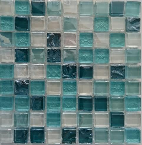 METALIC GREEN üvegmozaik